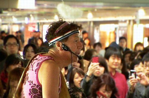 マック赤坂さんの選挙活動